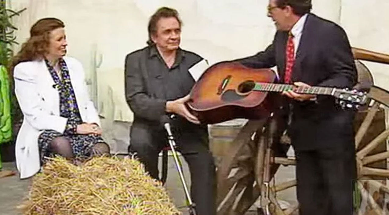 June carter cash Songs | Johnny & June Interview Unexpectedly Becomes Impromptu Performance Of Iconic Hit 'Jackson' | Country Music Videos