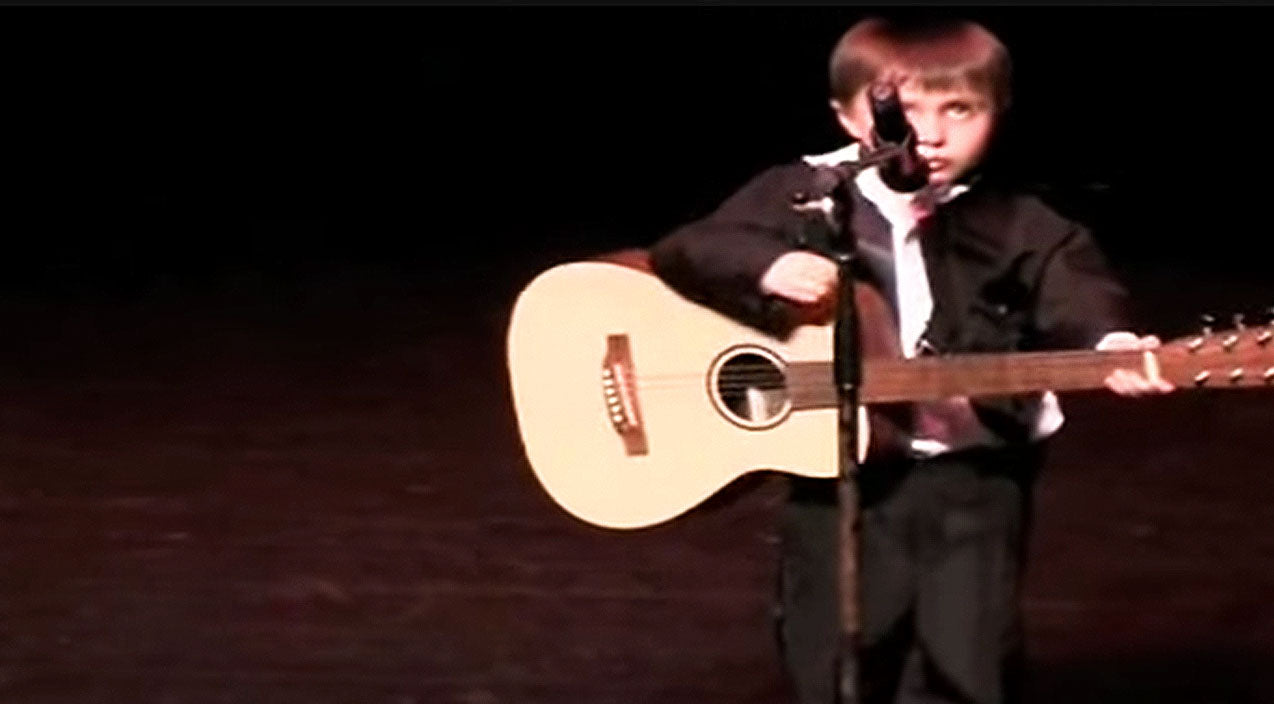 Johnny cash Songs | 4-Year-Old Johnny Cash Impersonator Will Melt your Heart Singing 'Ring Of Fire' | Country Music Videos