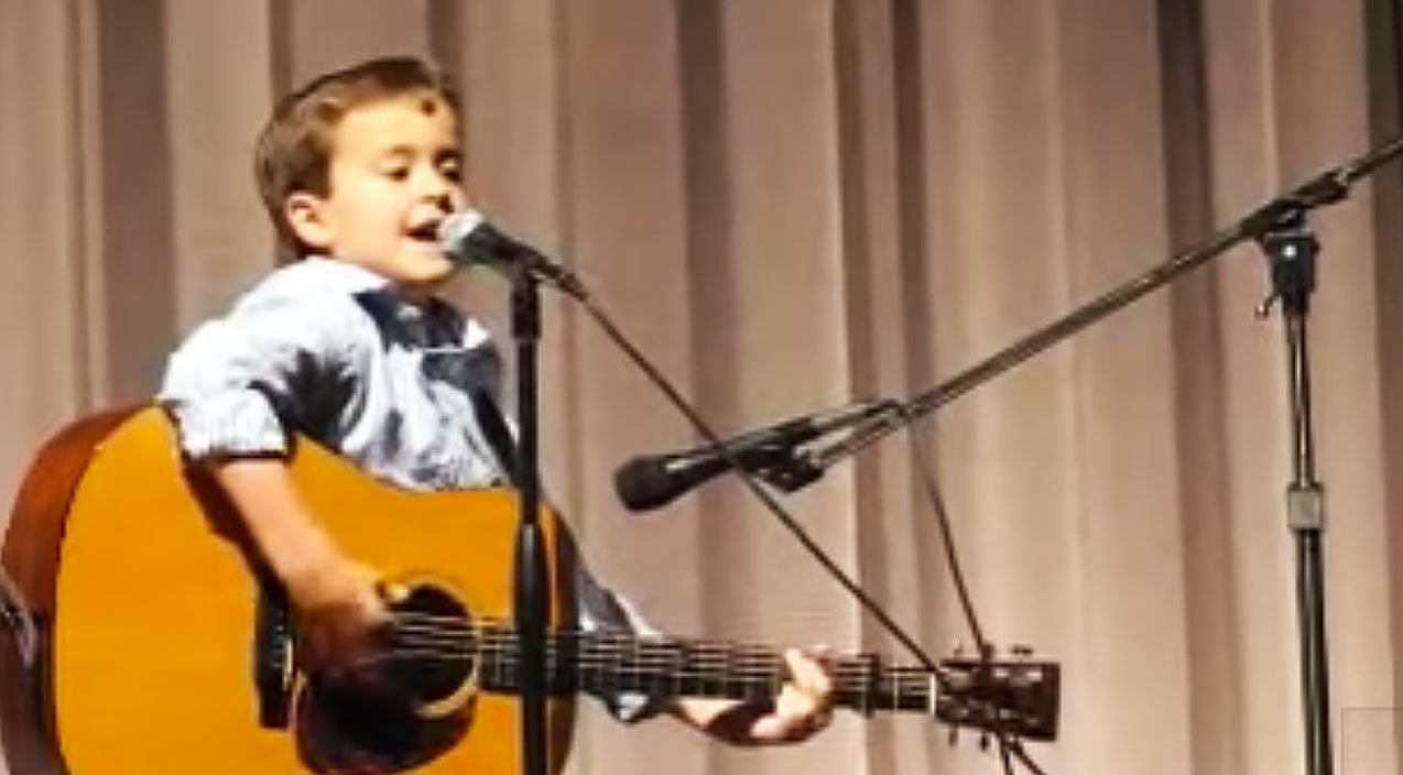 Classic country Songs | Second Grader Jolts Audience With Unthinkable Guitar Skills In Southern Classic | Country Music Videos
