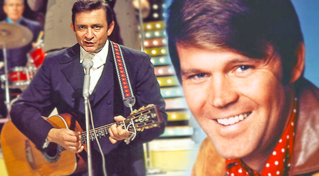 Merle haggard Songs   Glen Campbell's Famous Duet with Johnny Cash (Incredible!) (WATCH)   Country Music Videos