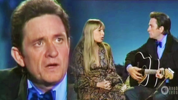 Johnny cash Songs   Johnny Cash and Joni Mitchell - The Long Black Veil   Country Music Videos