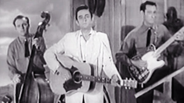 Johnny cash Songs | Johnny Cash - I Walk the Line (Live TV performance 1957) | Country Music Videos