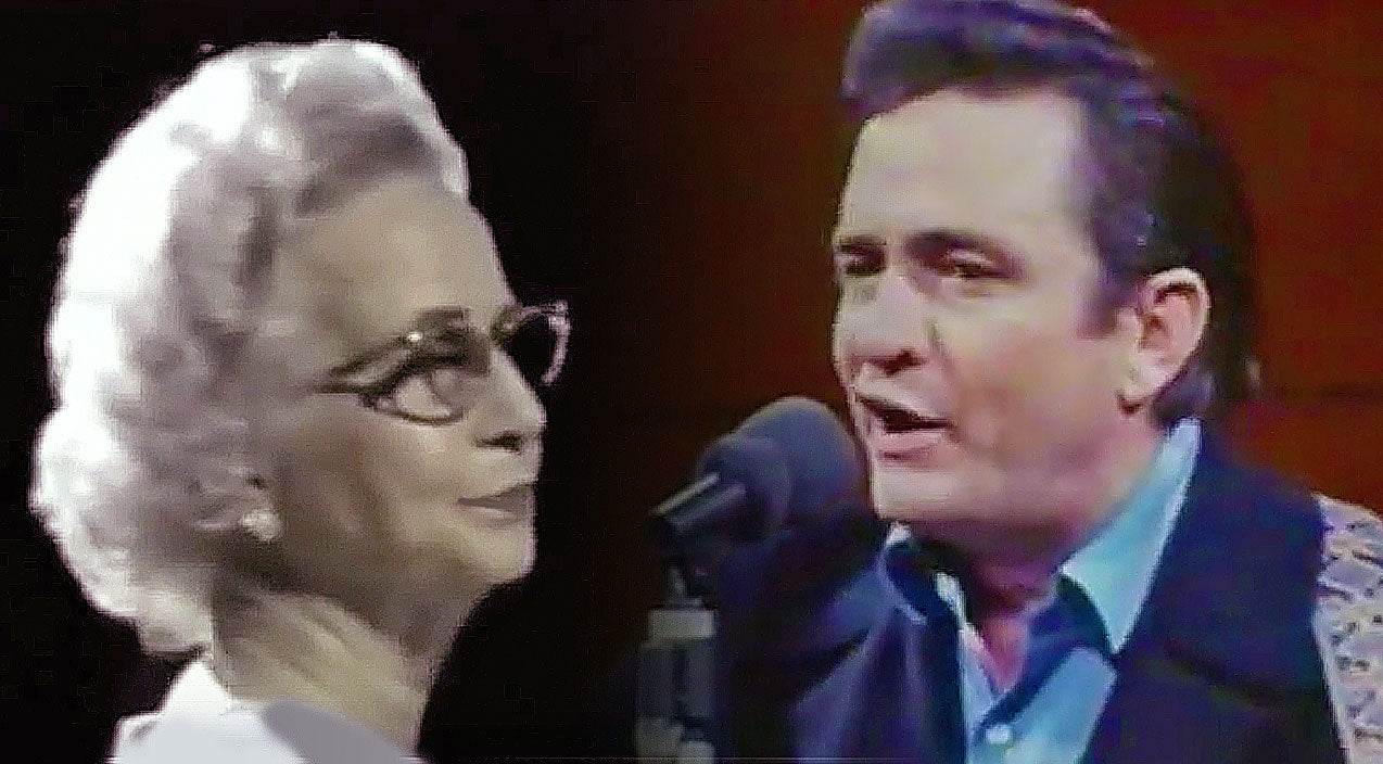 Johnny cash Songs | Johnny Cash Shares Precious Duet With His Mother, Singing