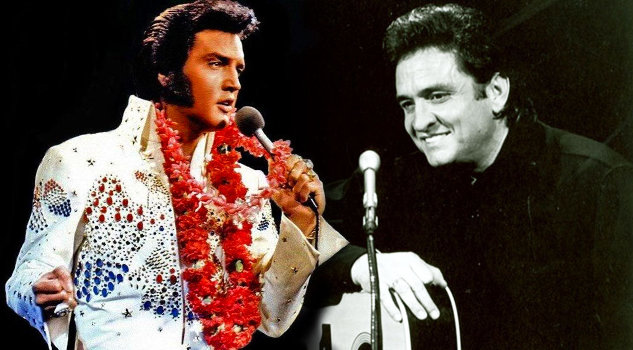 Johnny cash Songs | Johnny Cash Throws Out His Back, Impersonating Elvis Presley!!! (Hilarious!) | Country Music Videos