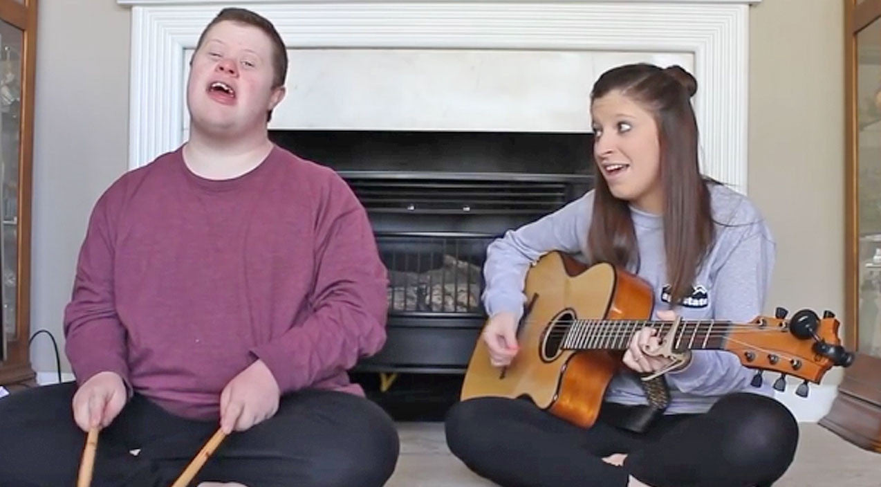 Dolly parton Songs | Boy With Down Syndrome Joins Sister For Heartwarming 'Jolene' Duet | Country Music Videos