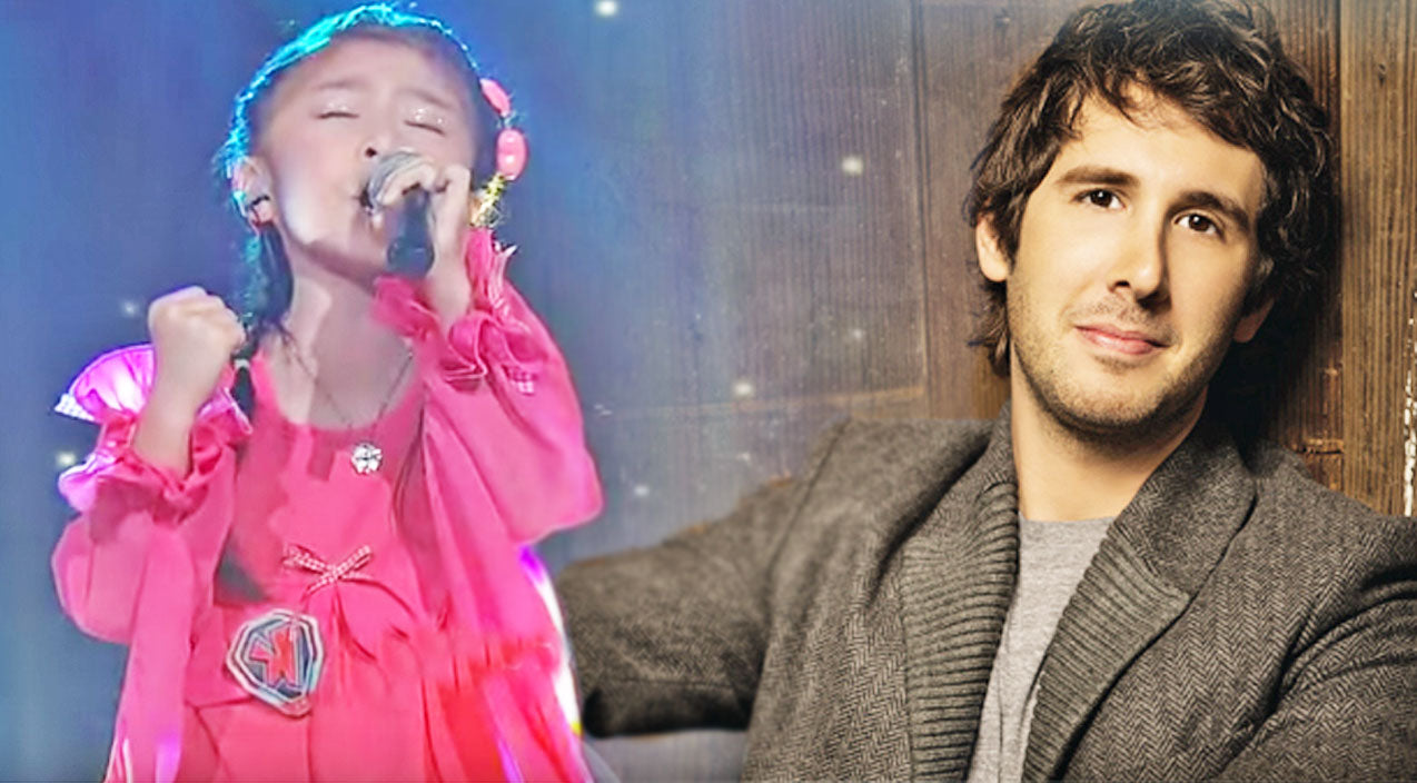 Josh groban Songs | 5-Year-Old Girl's Inspirational Performance of 'You Raise Me Up' Will Bring You To Your Knees | Country Music Videos