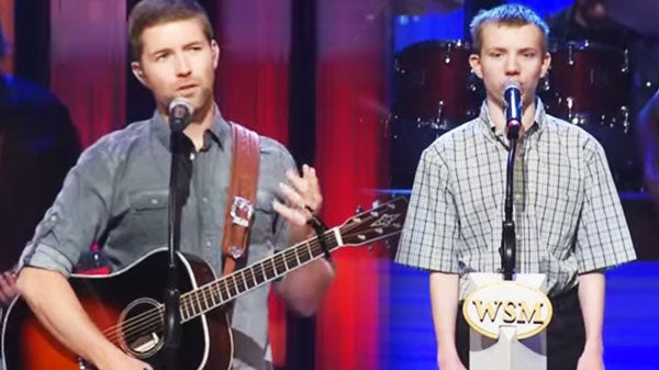 Logan blade Songs | Josh Turner Plays Opry Stage With Middle Tennessee Autistic Musician | Country Music Videos