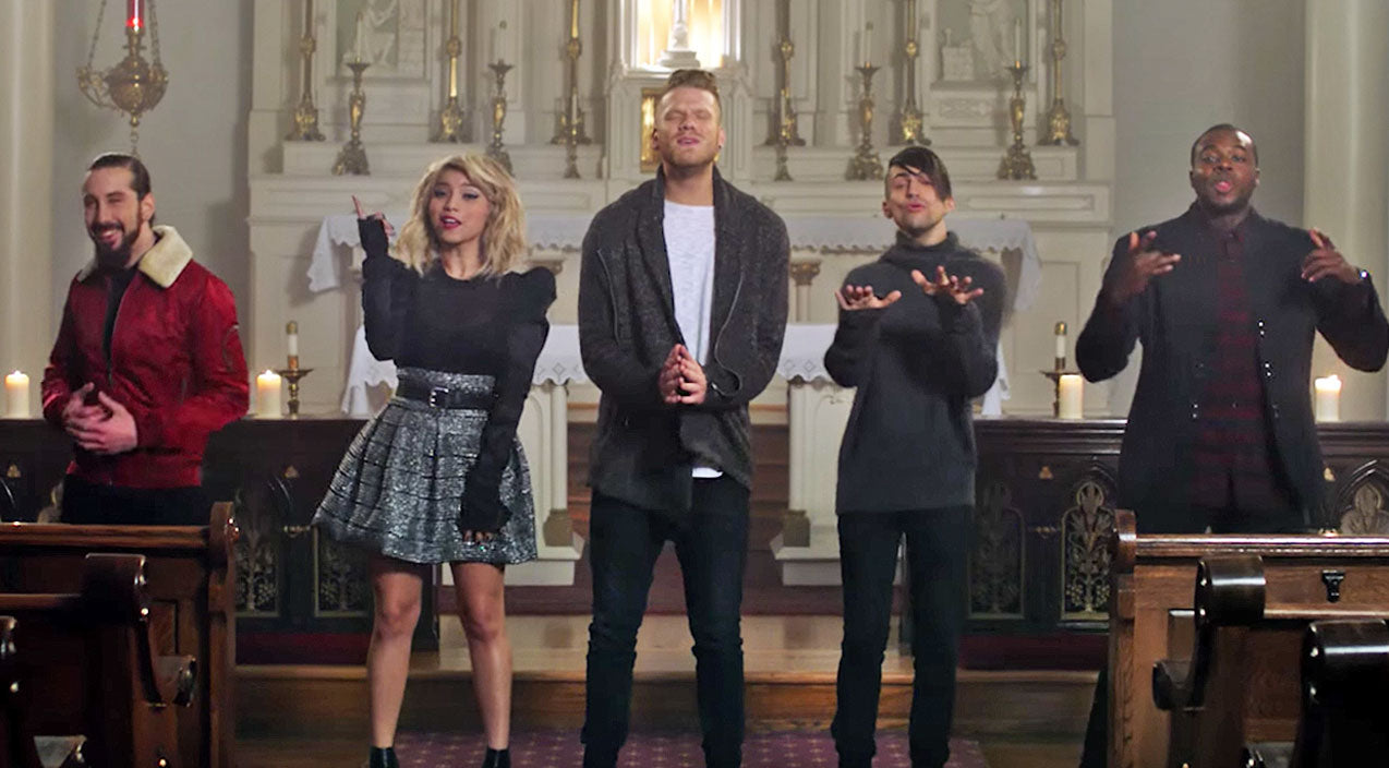 Pentatonix Songs | A Capella Group's Christmas Cover Is The Sheer 'Joy' We Need This Holiday Season | Country Music Videos