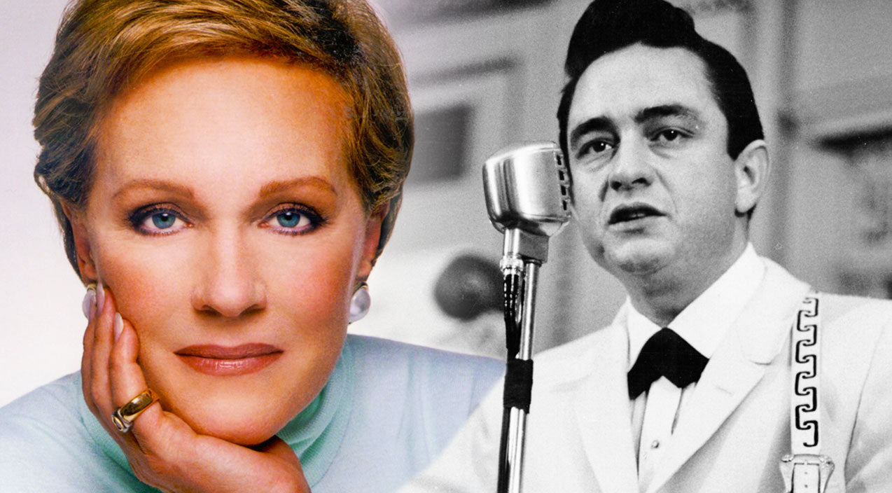 Julie andrews Songs | RARE: Julie Andrews And Johnny Cash Sing Elvis' 'Love Me Tender' In Stunning Duet | Country Music Videos