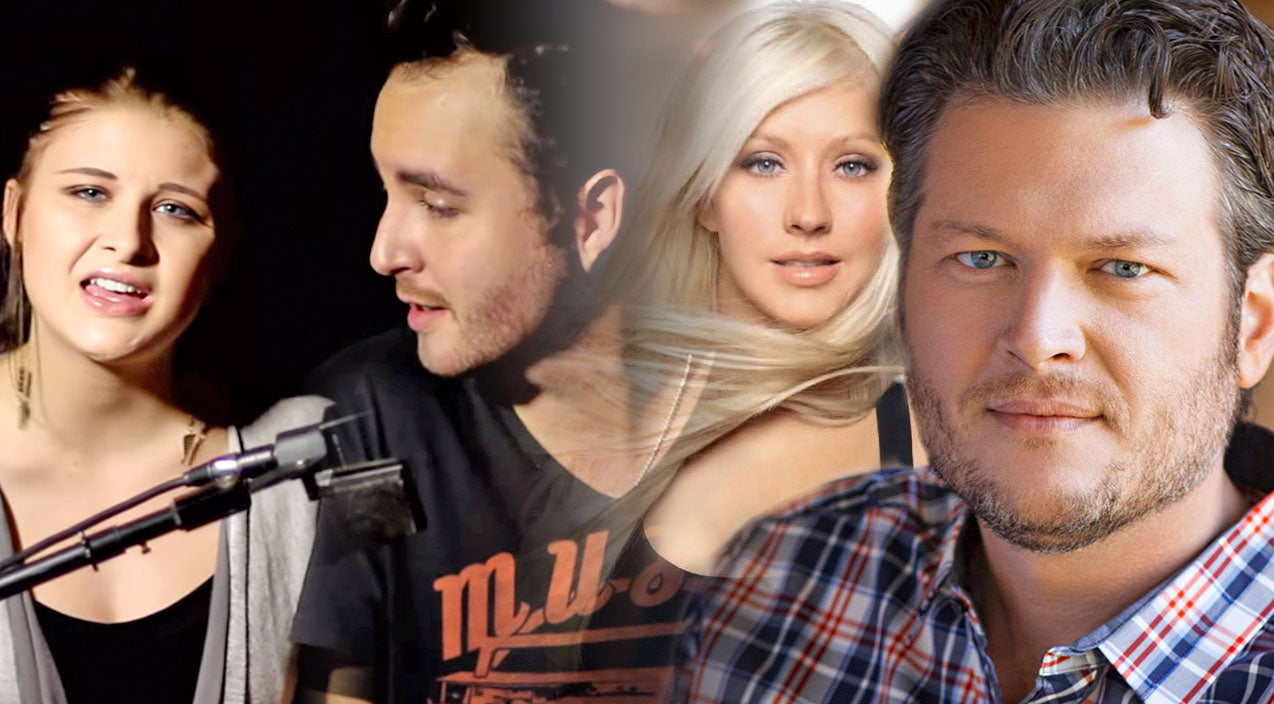 Christina aguilera Songs | YouTube Duo's Stunning Cover Of Blake Shelton and Christina Aguilera's