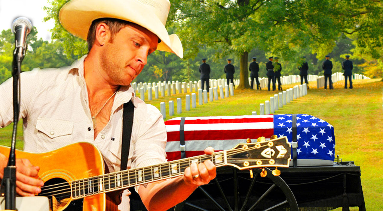 Military Songs | Justin Moore Sings Emotional Tribute To Fallen Heroes | Country Music Videos