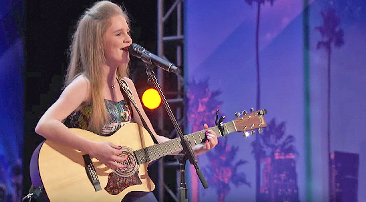 Merle haggard Songs | 12-Year-Old Girl Wows Judges With Merle Haggard Classic On America's Got Talent | Country Music Videos
