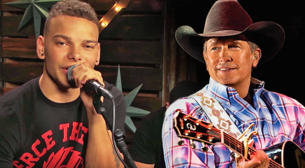 Kane brown Songs | Kane Brown Channels His Inner George Strait In Romantic Cover Of 'Check Yes Or No' | Country Music Videos