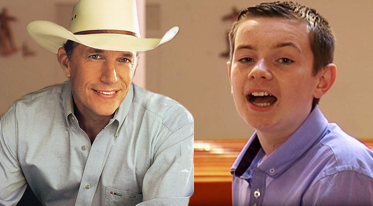 George strait Songs | Young Irish Boy Gives Breathtaking Performance To George Strait Tear-Jerker | Country Music Videos