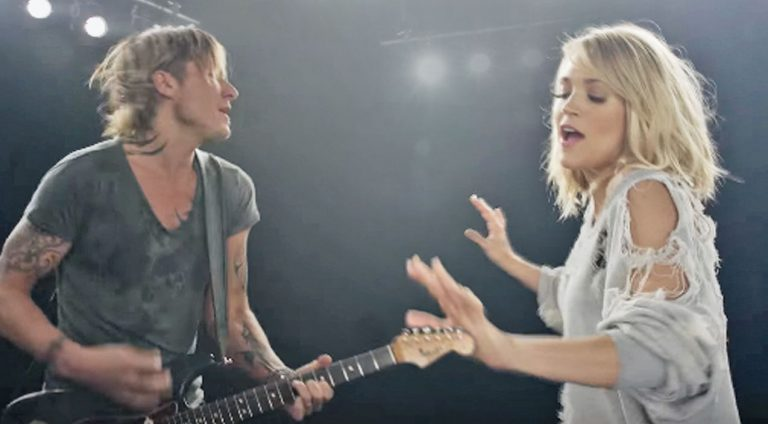 "Keith urban Songs | Carrie Underwood Shows Off Dance Moves In Flirty Video For ""The Fighter"" With Keith Urban 