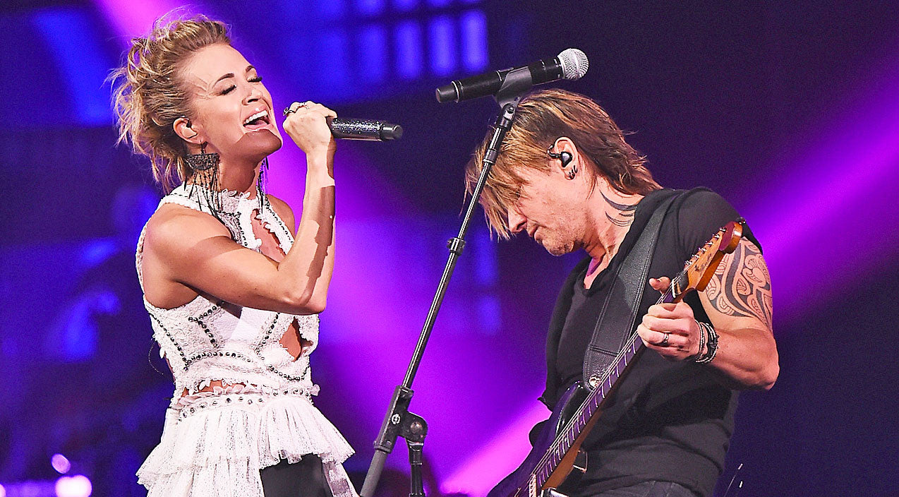 Keith urban carrie underwood offer up romantic new spin for Carrie underwood and keith urban duet