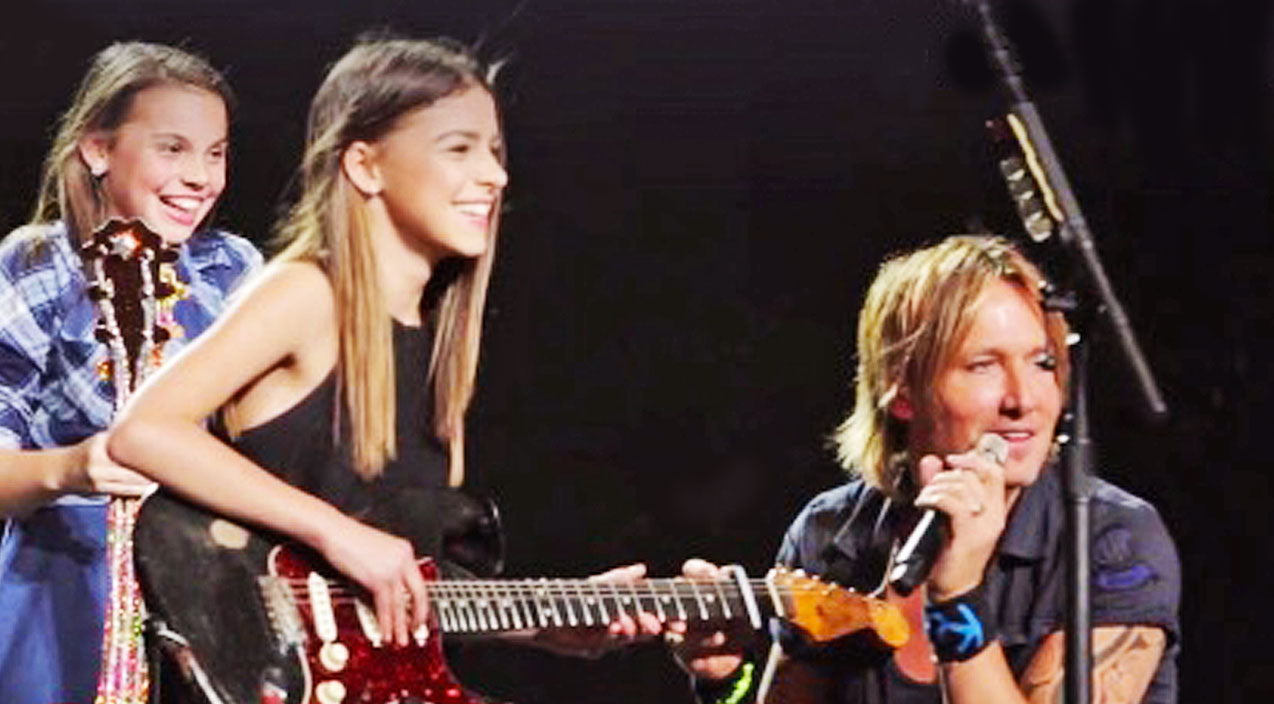 Keith urban Songs | Keith Urban Interrupts Concert To Give Talented 14-Year-Old Fan The Spotlight | Country Music Videos