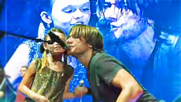 Keith urban Songs | Young Keith Urban Fan Steals Show During 'Kiss A Girl' | Country Music Videos