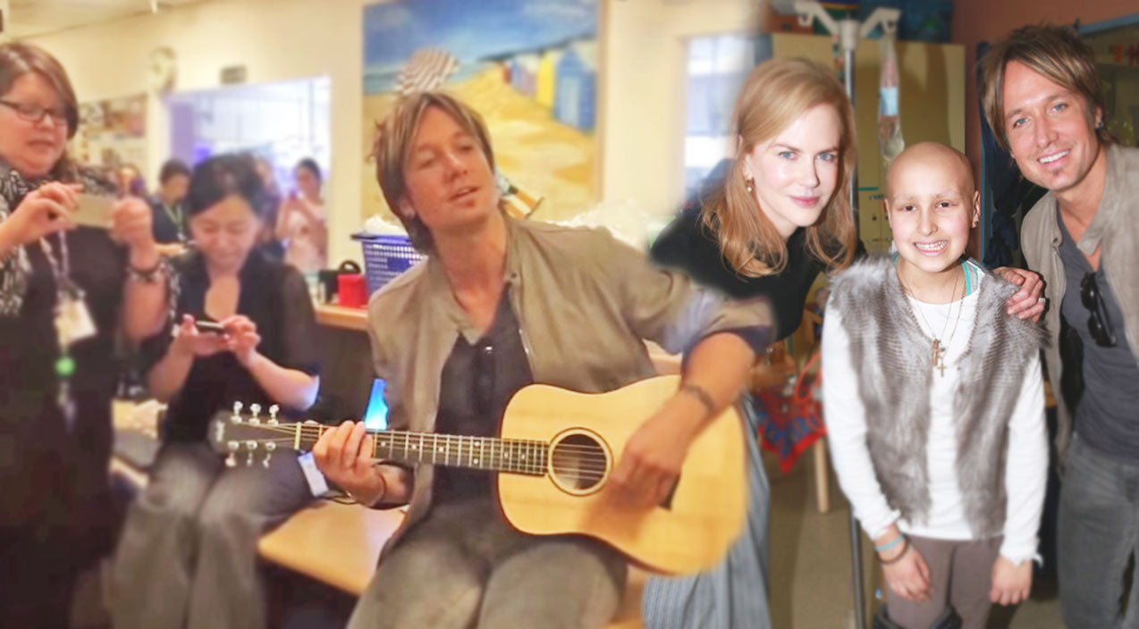 Keith urban Songs | Keith Urban & Nicole Kidman Serenade at Children's Hospital (VIDEO) | Country Music Videos