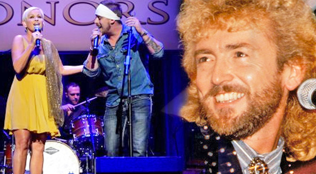 Lorrie morgan Songs | Jesse Keith Whitley & Lorrie Morgan Sing Tribute To Keith Whitley With 'Til A Tear Becomes A Rose' | Country Music Videos