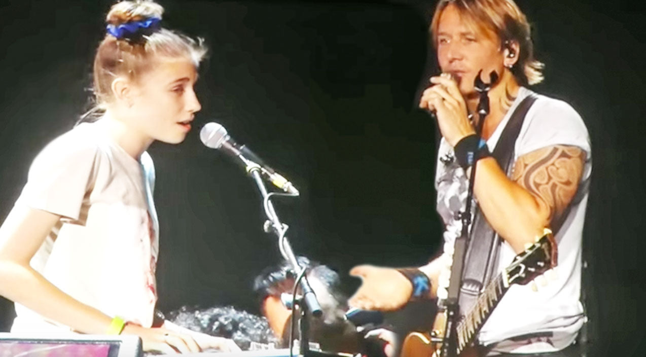 Keith urban Songs | Keith Urban Brings Talented Little Girl On Stage For Breathtaking Duet | Country Music Videos