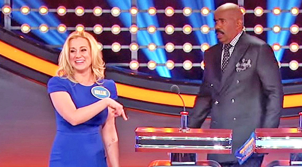 Steve harvey Songs | Kellie Pickler Opens Up About Her Hysterical Mistake On 'Family Feud' | Country Music Videos