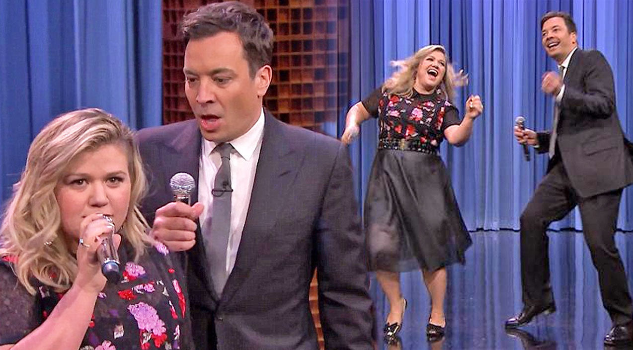 Kelly clarkson Songs | Kelly Clarkson and Jimmy Fallon Sing 'Islands In The Stream' & Other Famous Duets (FUNNY!) (WATCH) | Country Music Videos