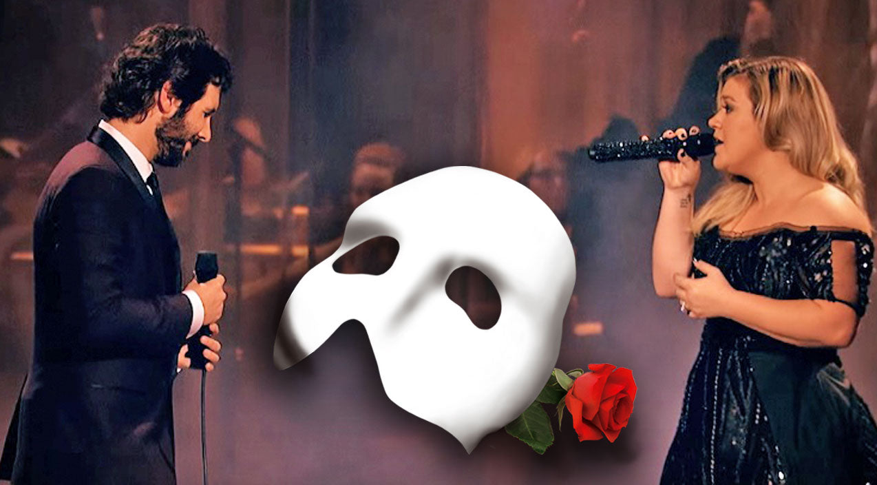 Kelly clarkson Songs | Kelly Clarkson & Josh Groban Captivate The Crowd With Enchanting 'Phantom Of The Opera' Duet | Country Music Videos