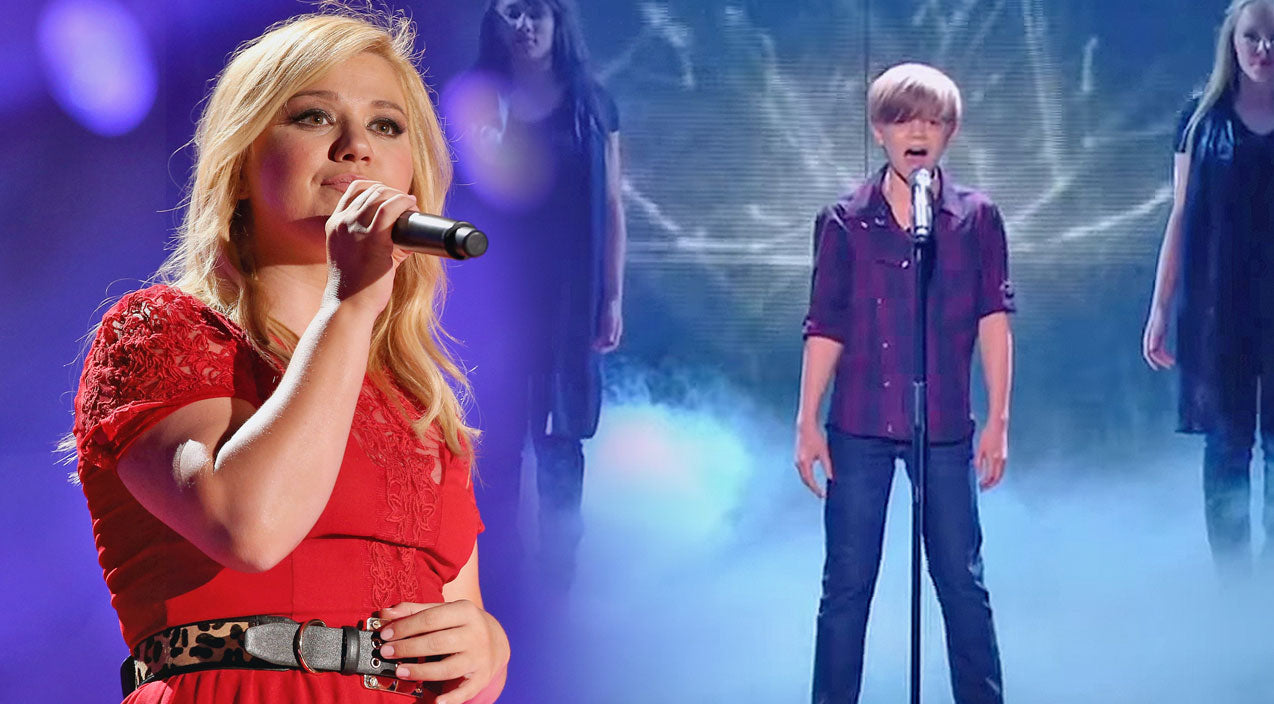 Kelly clarkson Songs | 12-Year-Old Boy Stuns With Beautiful Rendition Of Kelly Clarkson Classic (VIDEO) | Country Music Videos