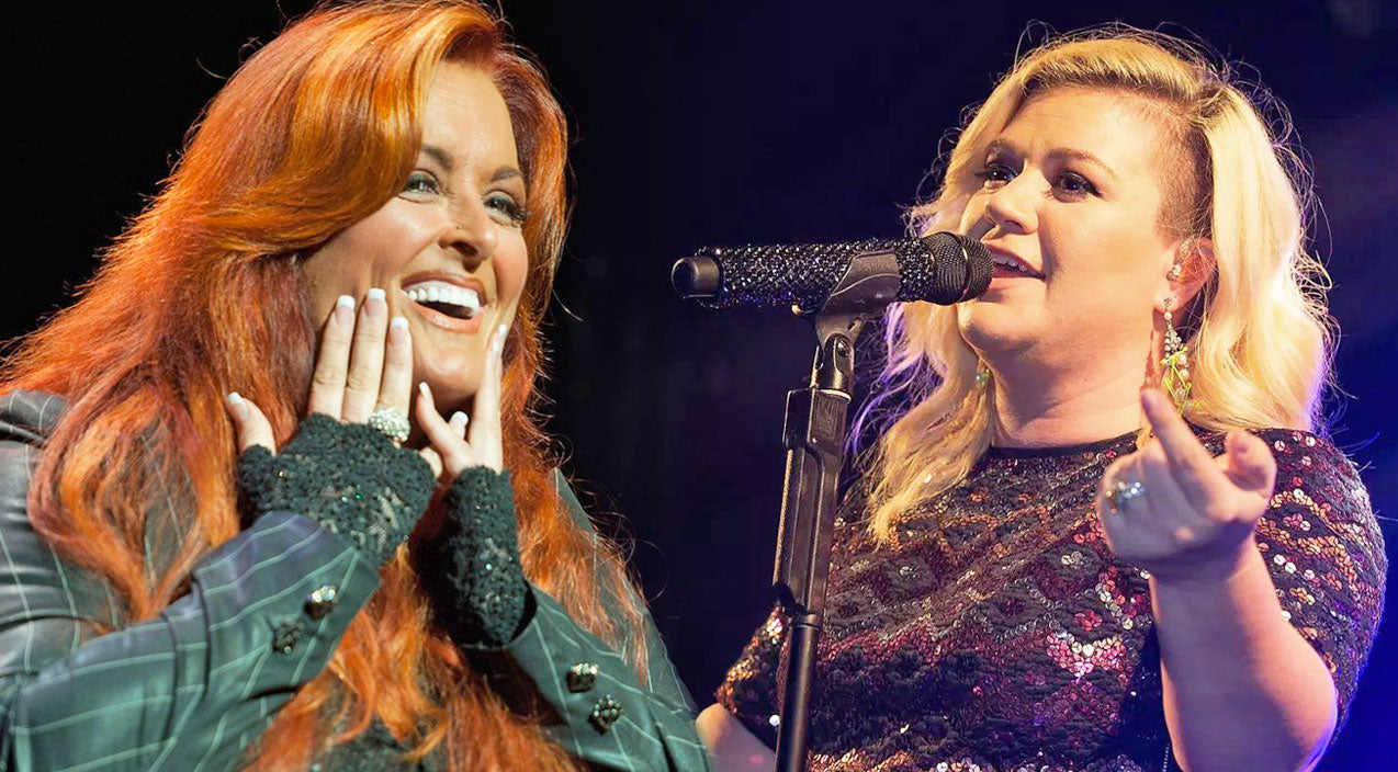 Wynonna judd Songs | Kelly Clarkson Stuns With Wynonna Judd's Iconic, 'No One Else On Earth' | Country Music Videos