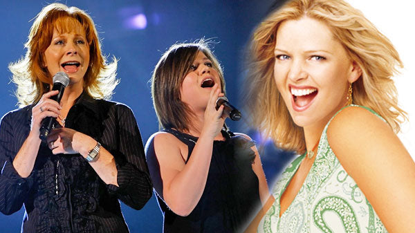 Reba mcentire Songs | Reba McEntire and Kelly Clarkson Sing