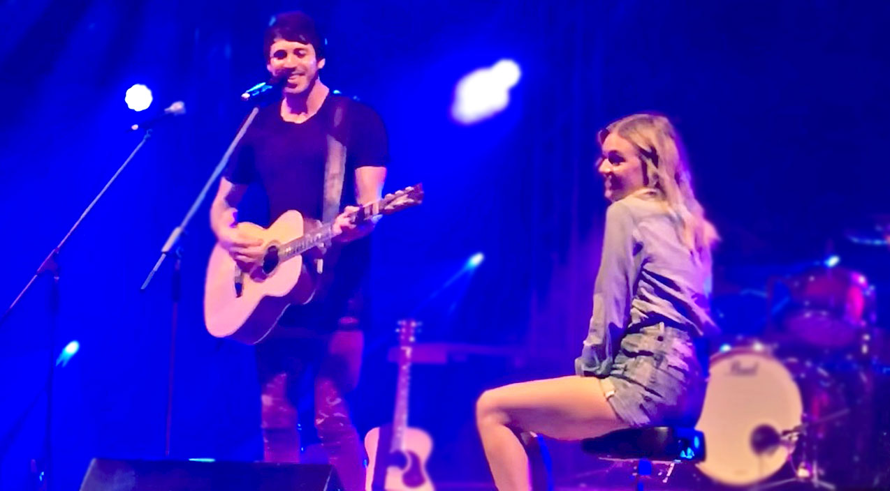 Kelsea ballerini Songs   Newlywed Country Couple Shows Off Their Love In Romantic Onstage Display   Country Music Videos