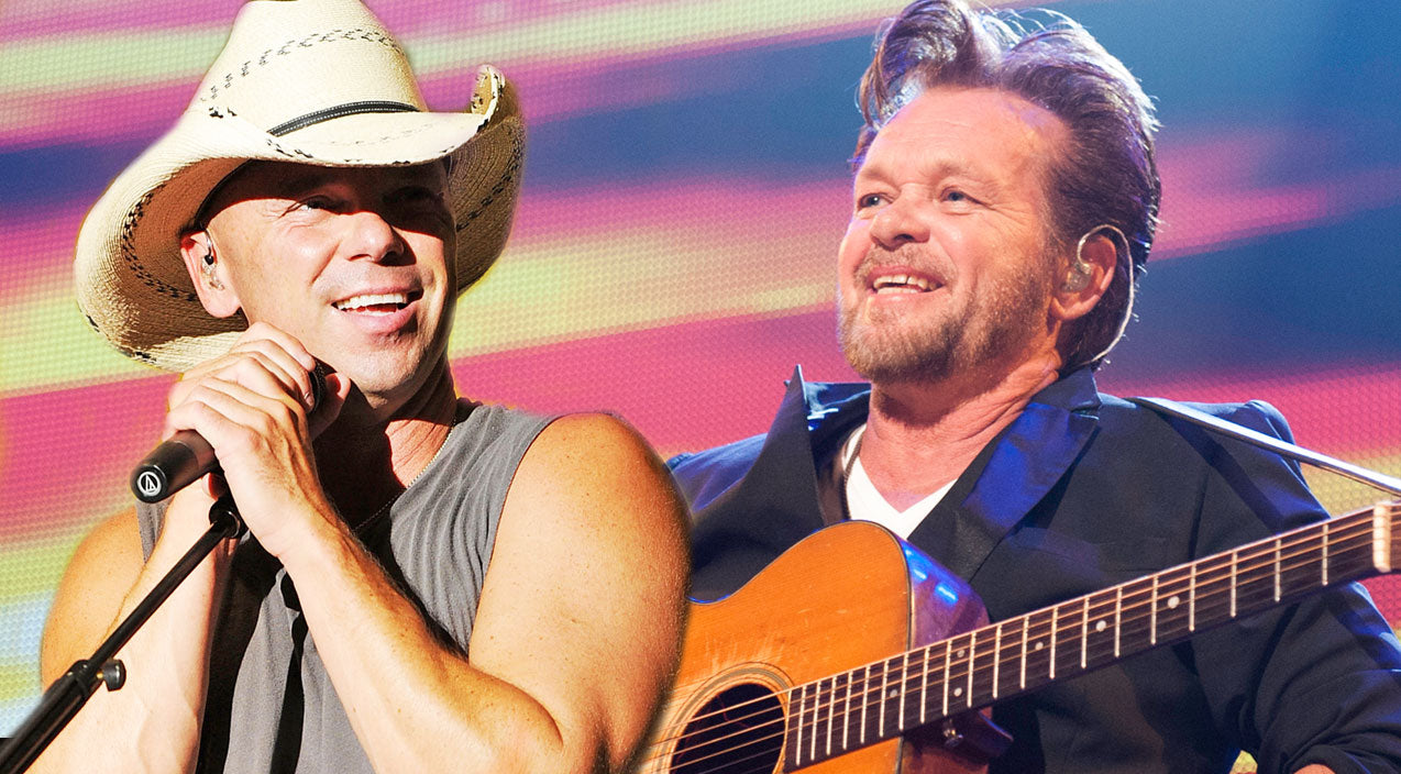 Kenny chesney Songs | Kenny Chesney And John Mellencamp Light Up The Stage With 'Jack & Diane' | Country Music Videos