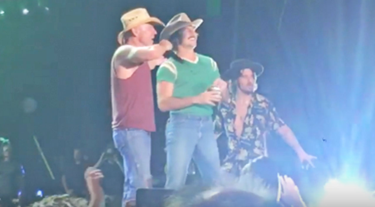 Midland Songs | Rising Country Stars Crash Kenny Chesney Concert To Perform Epic 'She Thinks My Tractor's Sexy' | Country Music Videos