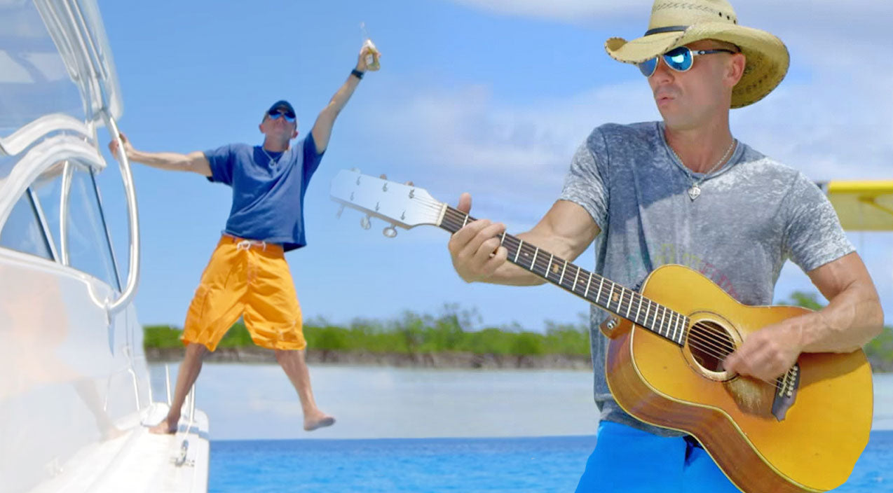 Kenny chesney Songs | Kenny Chesney Goes On Everyone's Dream Vacation In New Music Video For