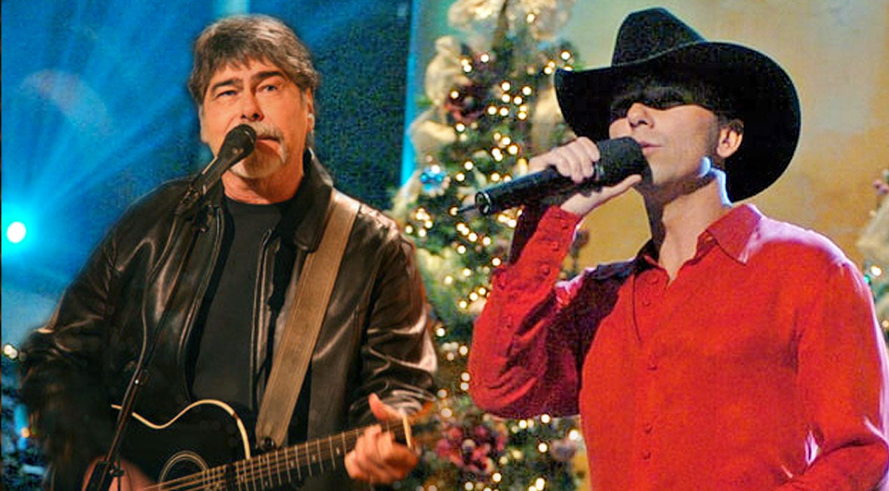 Kenny chesney Songs | Kenny Chesney & Alabama's Randy Owen Spread Cheer With 'Christmas In Dixie' Duet | Country Music Videos