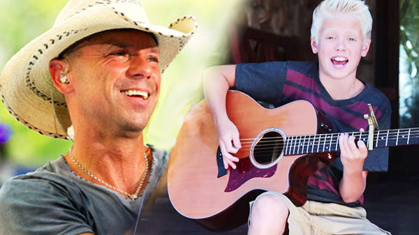 Kenny chesney Songs | 13-Year Old Sensation Carson Lueders Sings Kenny Chesney's