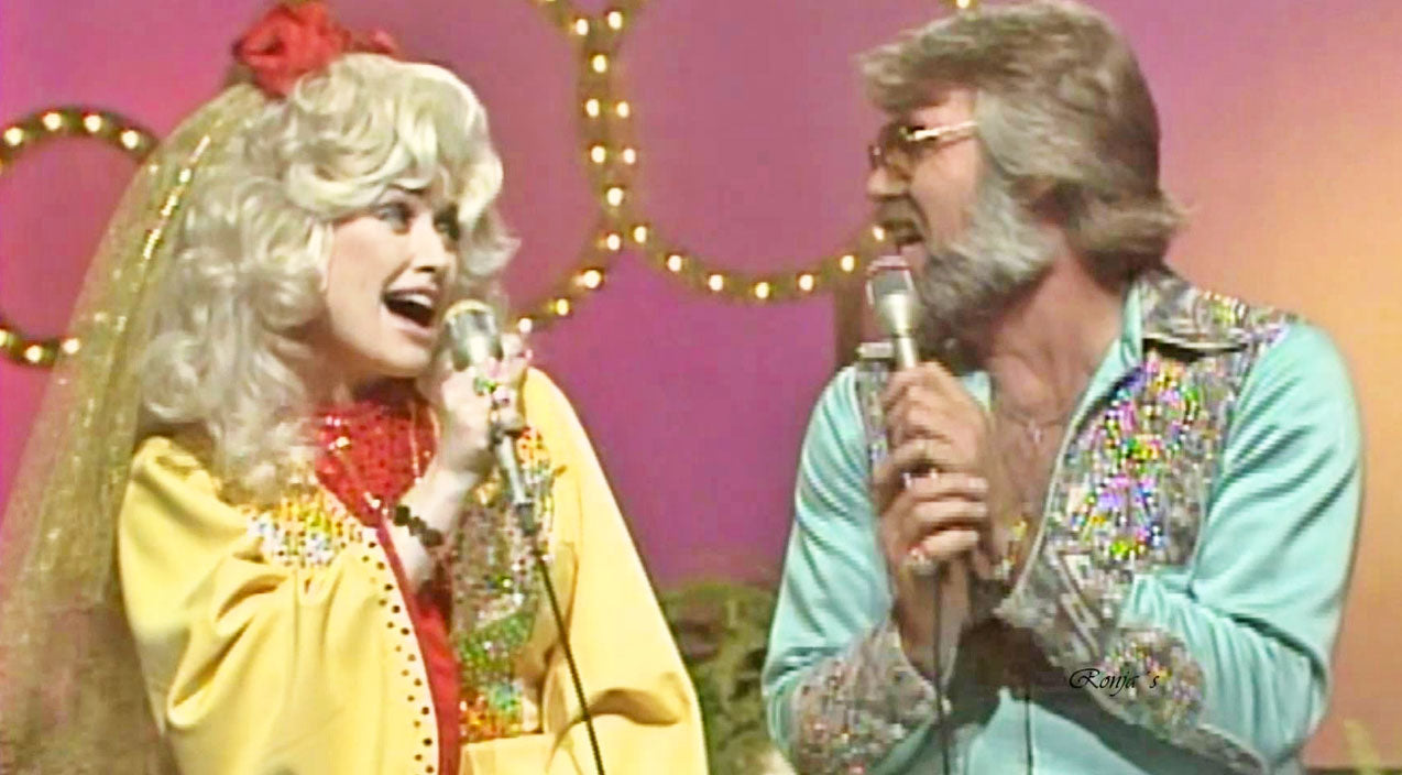 Kenny rogers Songs | Kenny & Dolly Tease Fans With Flirty Performance Of 'Real Love' | Country Music Videos