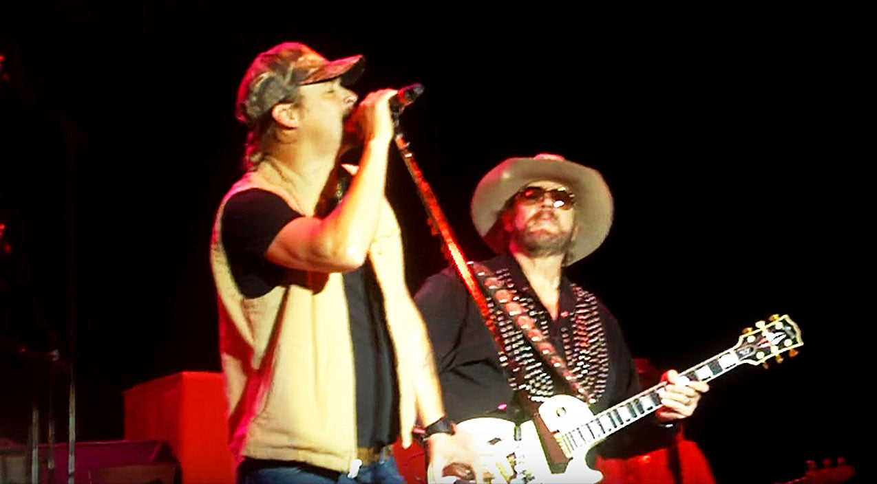 Kid rock Songs | Hank Williams Jr. & Kid Rock Thrill Unsuspecting Crowd With Lynyrd Skynyrd Classic | Country Music Videos