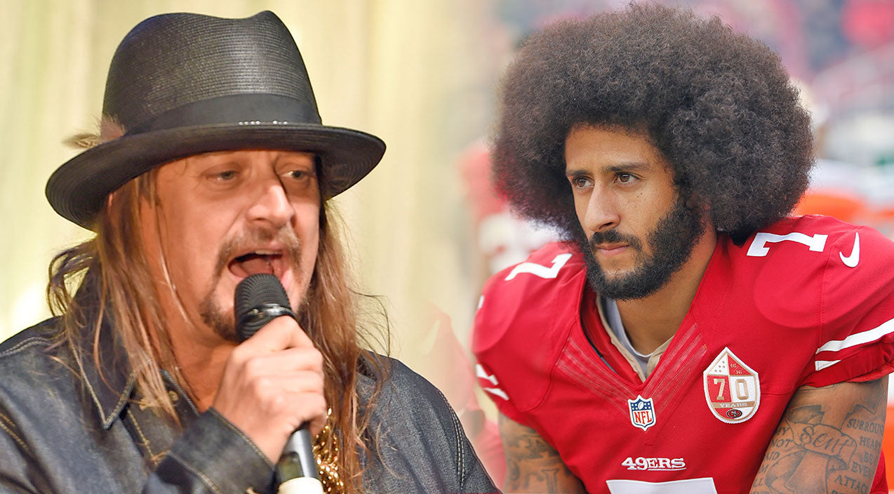 Steven van zandt hair accident - Kid Rock Pauses Concert To Unleash Fiery Statement On Colin Kaepernick