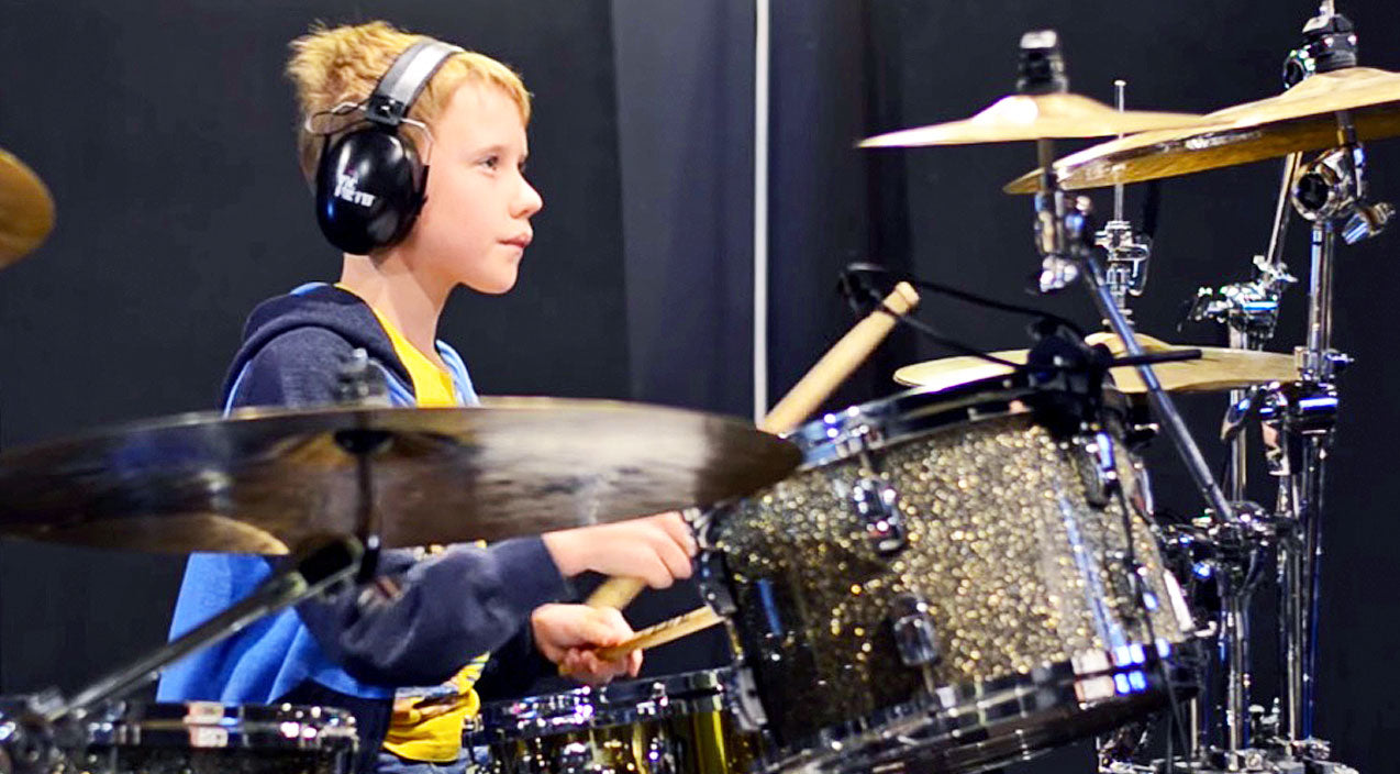 Viral content Songs | 10-Year-Old Boy Delivers Sizzlin' Drum Cover Of Kid Rock's 'All Summer Long' | Country Music Videos