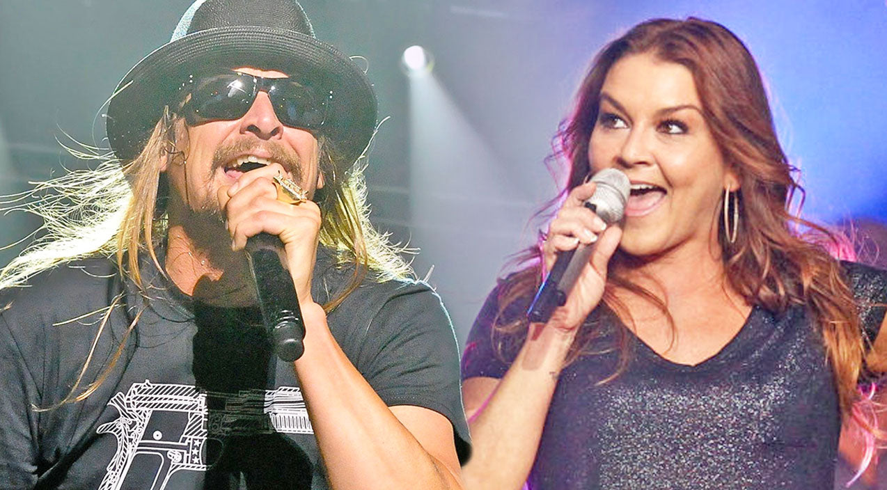 Kid rock Songs | Kid Rock And Gretchen Wilson Shock The Crowd With 'Picture' Duet | Country Music Videos