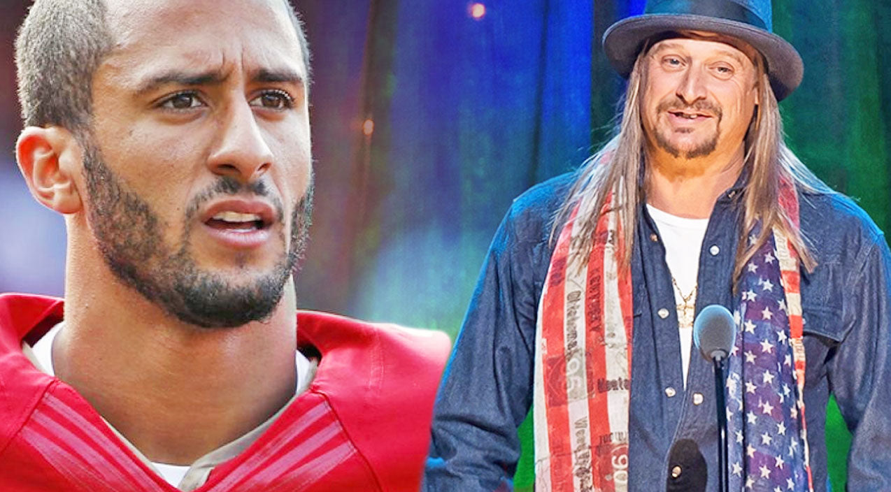 Kid rock Songs | Kid Rock Interrupts Performance To Deliver Explosive Comment On Colin Kaepernick | Country Music Videos
