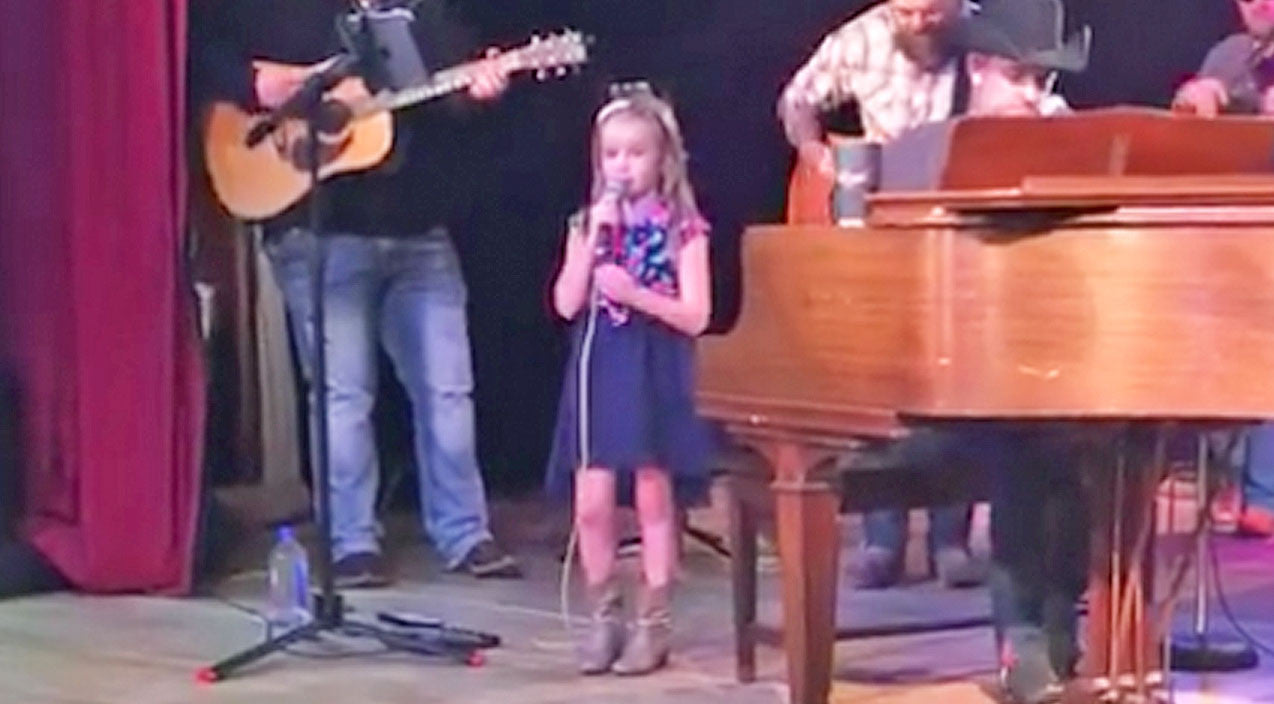 Craig campbell Songs | Country Star's 6-Year-Old Daughter Beautifully Sings Gospel Tune | Country Music Videos