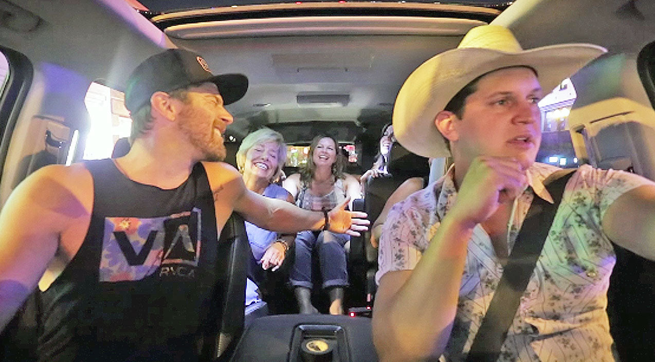 Kip moore Songs | Country Stars Take Lucky Fans On Epic Carpool Karaoke | Country Music Videos