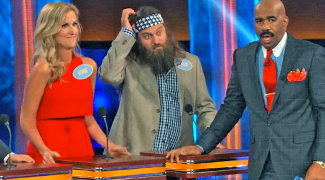 Willie robertson Songs | Willie Robertson & Steve Harvey Are Left Speechless By Korie's SHOCKING Family Feud Answer | Country Music Videos