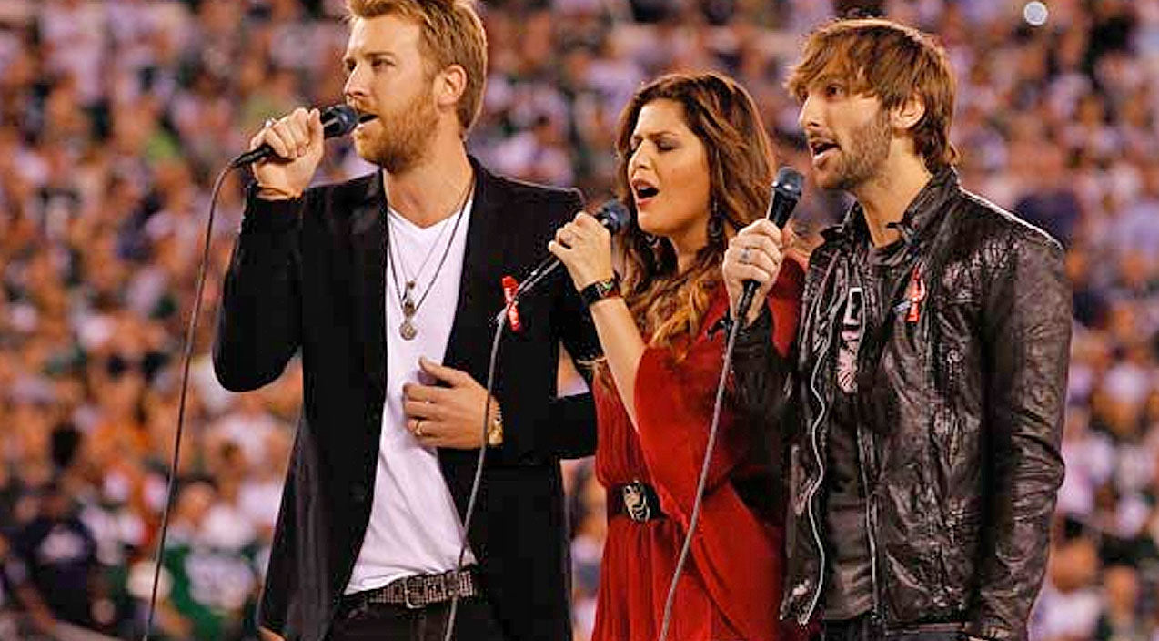 Lady antebellum Songs | Lady Antebellum's Touching Military Tribute Will Give Y'all Chills | Country Music Videos