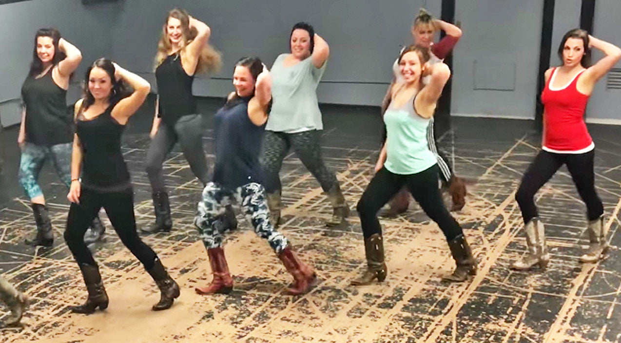 Lady antebellum Songs | Boot Boogie Babes Get Down & Dirty On The Dance Floor To Sexy Line Dance | Country Music Videos