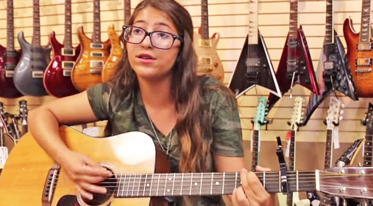 Johnny cash Songs | This 15-Year-Old Will Leave You Mesmerized With Her Acoustic 'Ring Of Fire' Cover | Country Music Videos