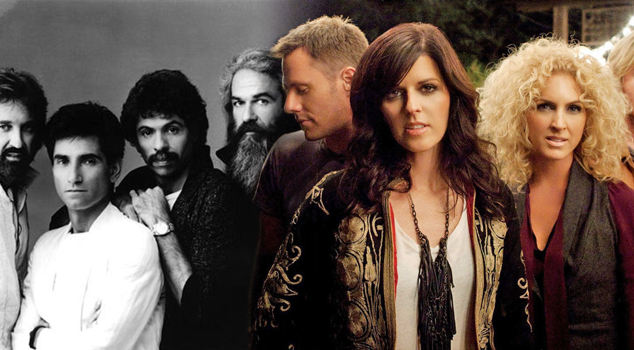 Oak ridge boys Songs | Little Big Town Puts Their Spin on The Oak Ridge Boys' 'Elvira' and It's Brilliant | Country Music Videos